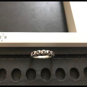 Pandora Black Zirconia ring